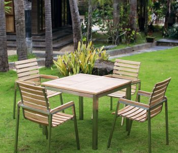 Stackable Victoria Dining Set - Indonesia Furniture