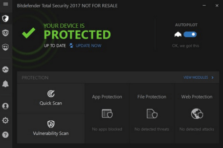 Bitdefender Total Security 2019 Free download 90d days Trial