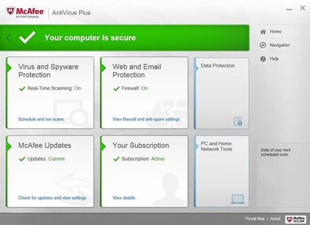 McAfee Antivirus Plus 2019 Free 6 Months Subscription
