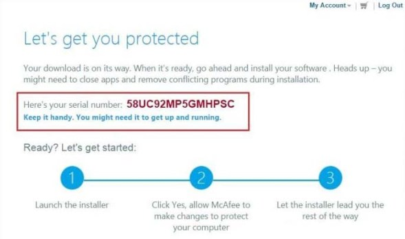 McAfee Antivirus Plus 2019 Free License Code