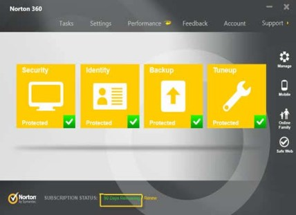 Norton 360 Free Trial for 90 Days