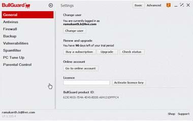 BullGuard Internet Security 2017 License Key