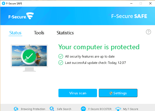 F-Secure Safe 2019 Free License Key 6 Months for 3 Devices