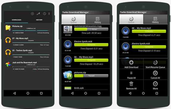 Downloader App for Android