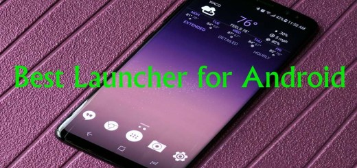 Best Free Launcher for Android 2018