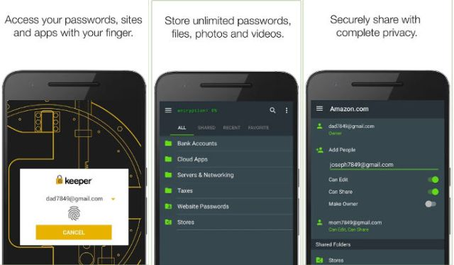 Free Best Password Manager for Android 2018