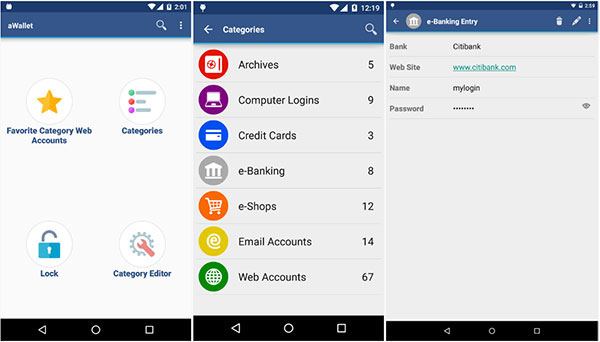 Free Best Password Manager for Android 2019