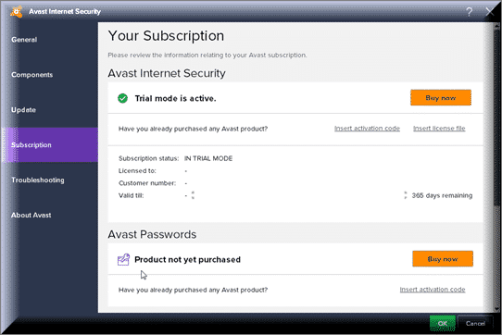 Avast Internet Security 2020 Activation Code