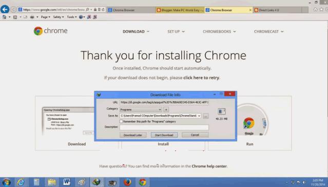 Google Chrome Offline Download