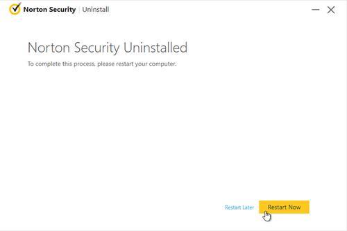 How to Uninstall Norton on Windows 10