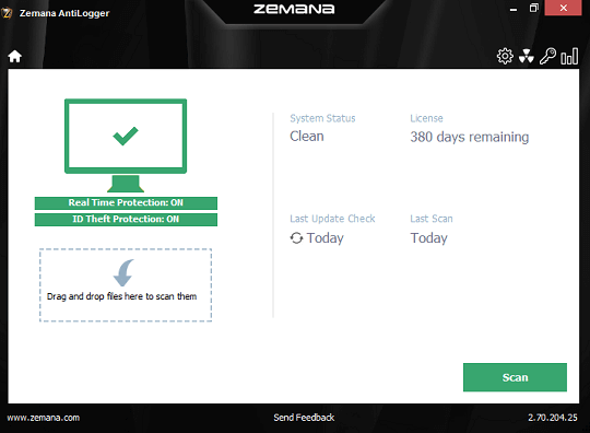 Zemana AntiLogger Free License Key 2018 for 1 Year
