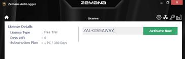 Zemana AntiLogger Free License Key