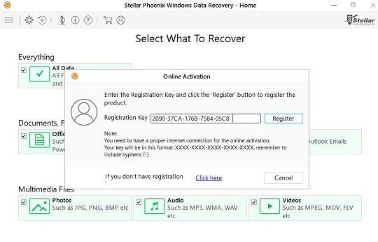 Stellar Phoenix Windows Data Recovery 7 Free