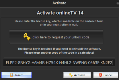 OnlineTV 14 Plus Free License Code