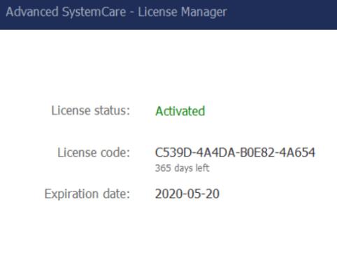 Iobit Advanced SystemCare 12 Pro License Key