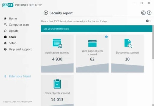ESET Internet Security 2021 Free Trial for 90 Days / 3 Months