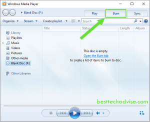 How to Burn MP3 to an Audio CD in Windows 10