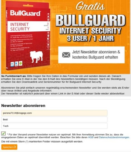 BullGuard Internet Security 2021 Free License for 1 Year [3PC]
