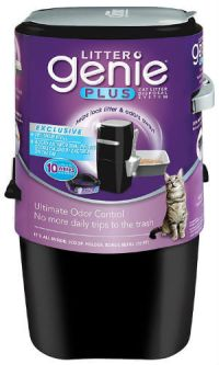 Litter Genie Plus Cat Litter Disposal System With Odor Free Pail System (2)
