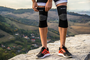 Mava Sports Knee Support Sleeves Bg