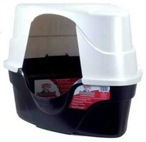 Natures Miracle Advanced Corner Hooded Cat Litter Box