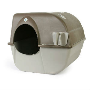 Omega Paw Rolln Clean Self Cleaning Litter Box