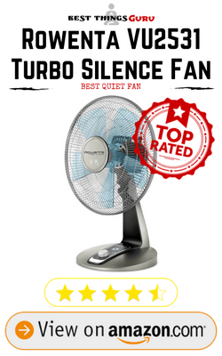 Rowenta VU2531 Turbo Silence Fan Review