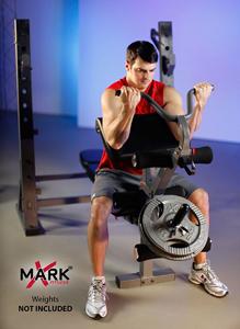 XMark XM 4424 1 International Olympic Weight Bench Bg2