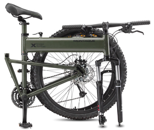 Montague Paratrooper Mountain Folding Bike 2