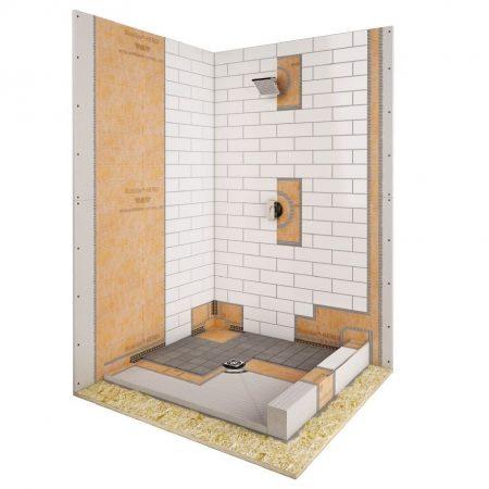 schluter kerdi shower kit best tile