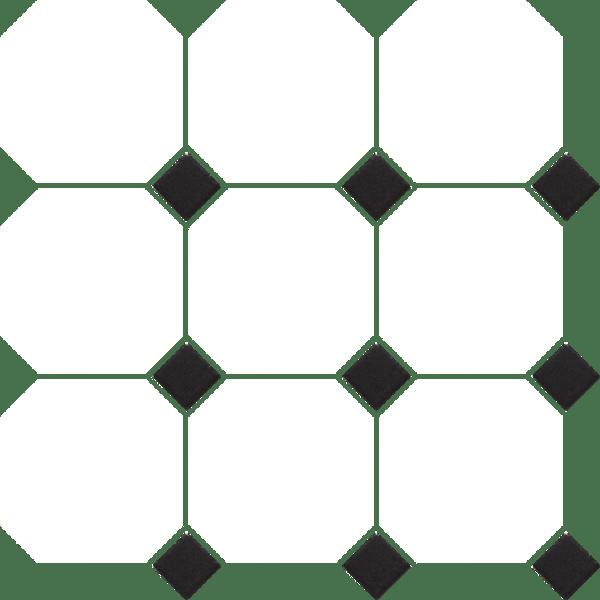 anatolia tile soho 4 oct dot white w