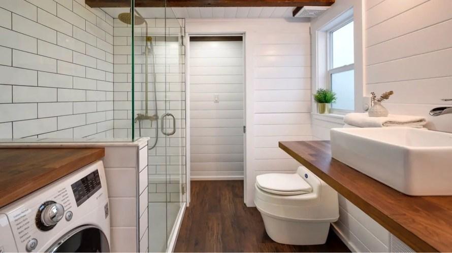tiny house bathroom heaters