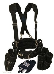 Contractor Pro Electricians Combo Deluxe Tool Belt Package