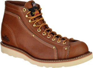 Thorogood Men's Tobacco Brown Heritage Roofer Work Boots