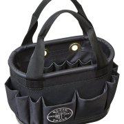 Klein Tools 5144BHB14OS Hard-Body Aerial Bucket Lineman Tool Bag