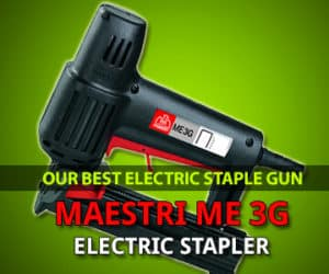 Best electric staple gun review