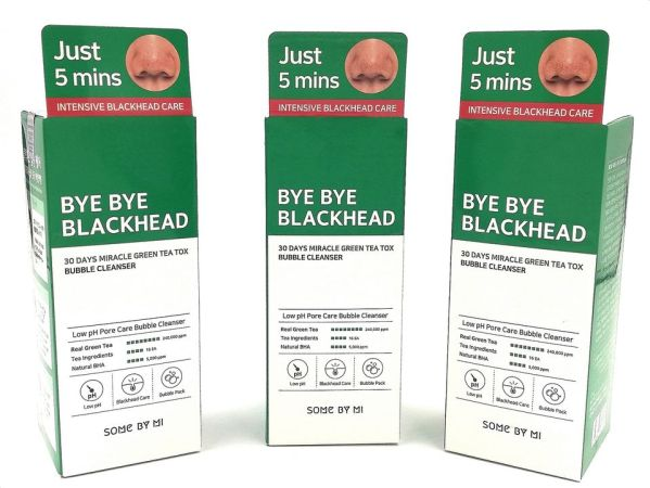 Bye Bye Blackheads