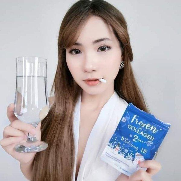 Frozen Collagen Vitamin Capsule