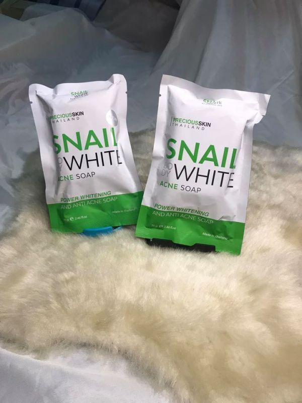 Snail White Acne Soap