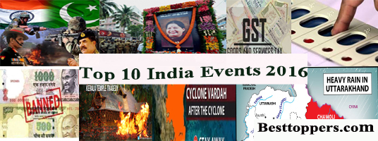 India events 2016
