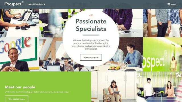 iprospect web design company norway