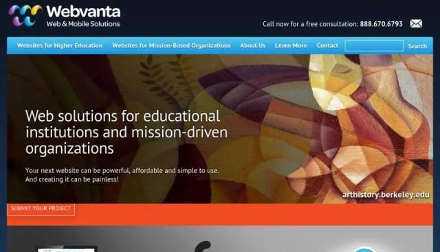 webvanta web design company united states