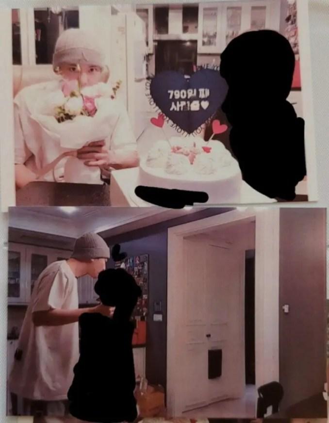 Chanyeol's Ex-girlfriend post Girlfriends Share Pics