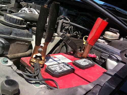 car battery failed