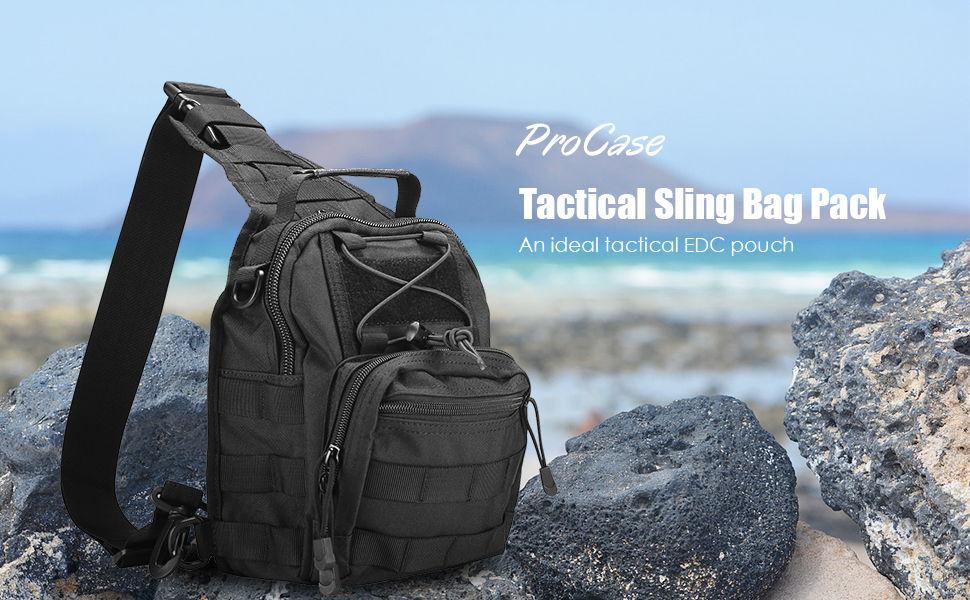 ProCase Tactical Sling Bag