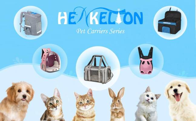 Henkelion bags for dogs to travel