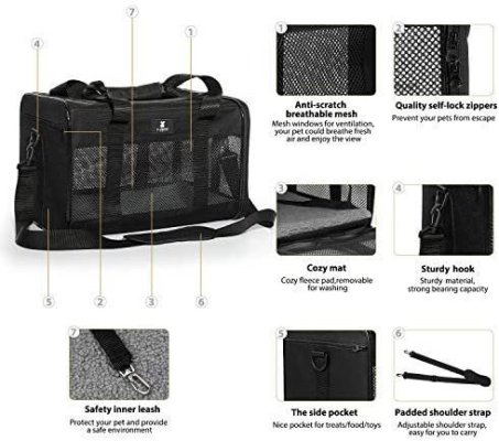x zone pet carriers features