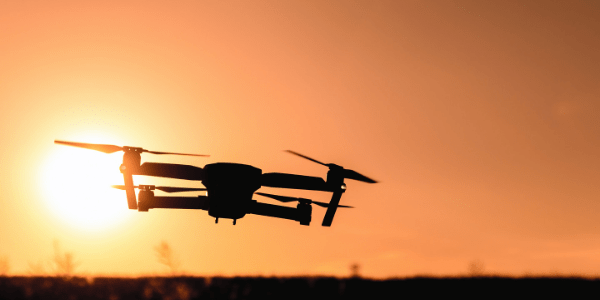 Image of Travel Drone at Dusk from Best Travel Drones Image 2