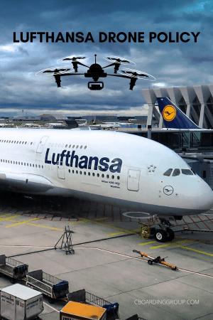 The lufthansa drone policy