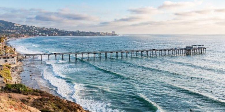 Scripps Beach - Best Drone Vacations